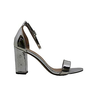 Madden Girl by Steve Madden Womens Bellaw Faux Leather Metallic Dress Sandals