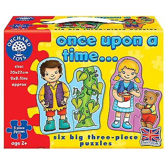 Boomgaard speelgoed 6 legpuzzels Once Upon a Time
