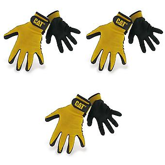 Caterpillar 17416 Nitrile Coated Nylon Shell Gloves / Mens Gloves / Gloves