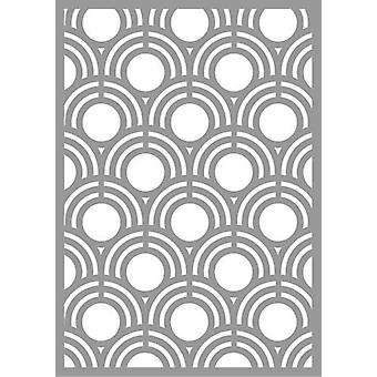 Pronty Mask stencil Abstract Shell Pattern 470.802.064 A5