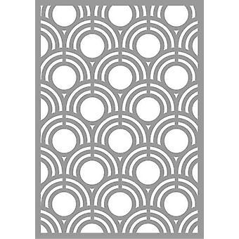 Pronty Máscara de estêncil Abstrato Shell Padrão 470.802.064 A5