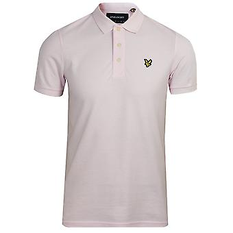 Lyle & scott men's strawberry cream polo shirt