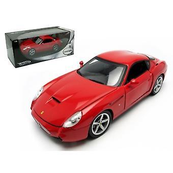 Ferrari 575 GTZ Zagato Red 1/18 Diecast Model Car par Hotwheels
