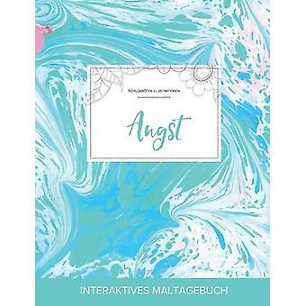 Maltagebuch fr Erwachsene Angst Schildkrten Illustrationen Trkiser Marmor by Wegner & Courtney