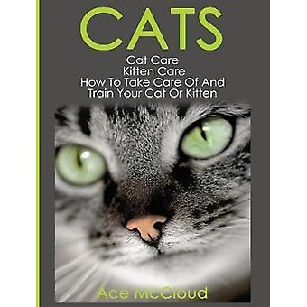 Cats Cat Care Kitten Care How To Take Care Of And Train Your Cat Or Kitten by McCloud & Ace