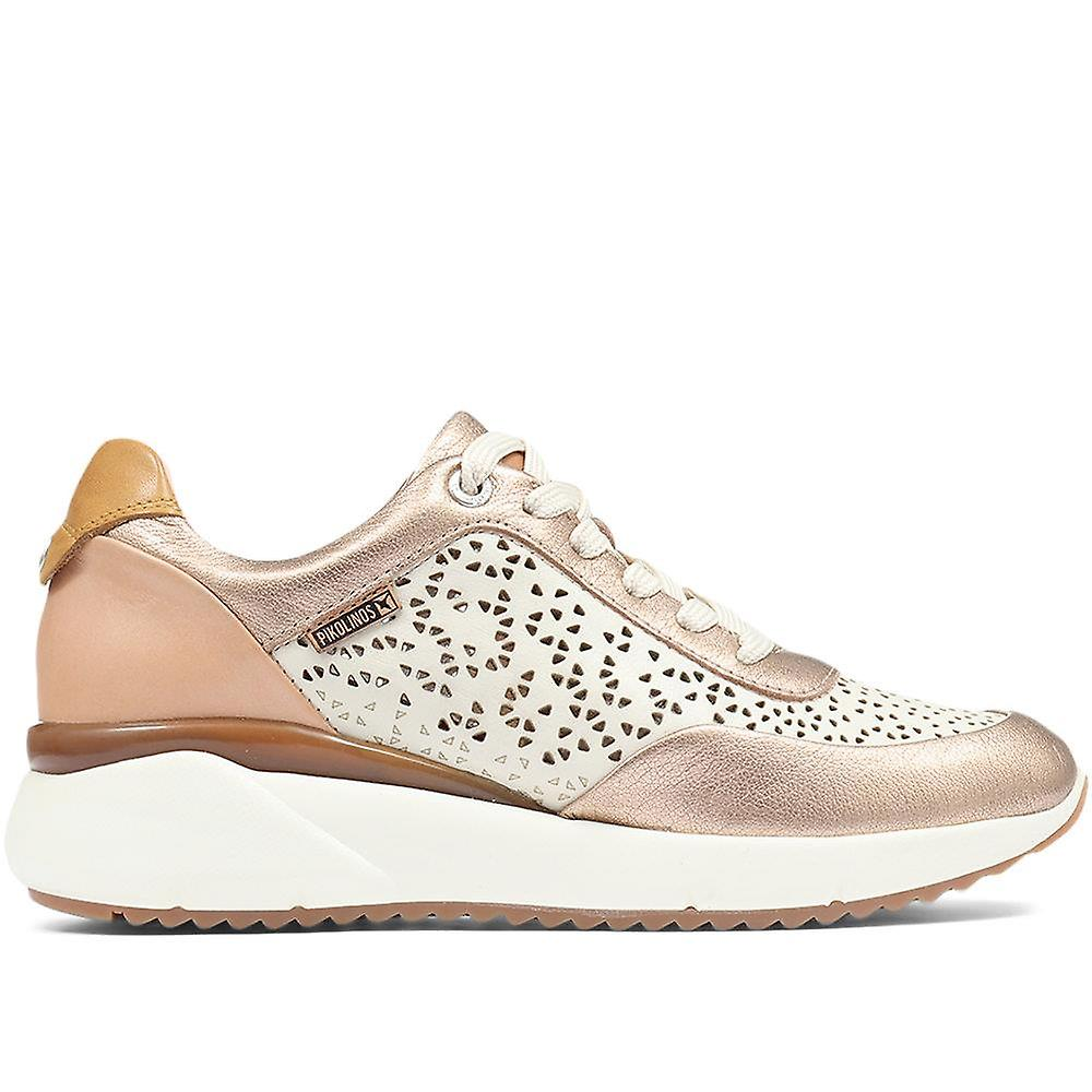Pikolinos Sella W6Z Lace-Up Leather Trainer