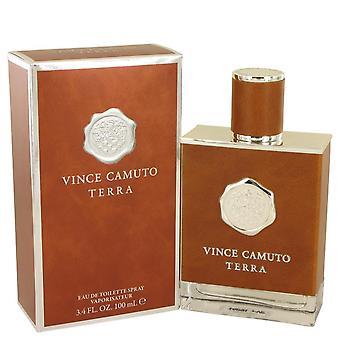 Vince camuto terra eau de toilette spray by vince camuto 537219 100 ml