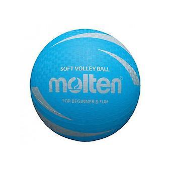 Gesmolten S2V1250-C Soft Touch-antislip en Niet Sting Rubber Blauw Volleybal