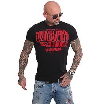 YAKUZA Mäns T-shirt Live Skratta Love