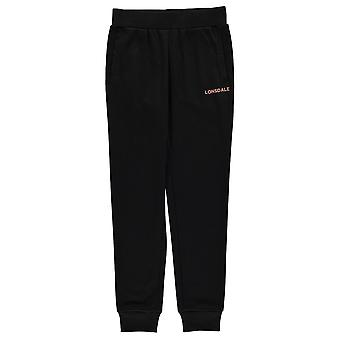 Lonsdale Girls Jogging Bottoms Junior Elasticated Waistband Trousers Pants