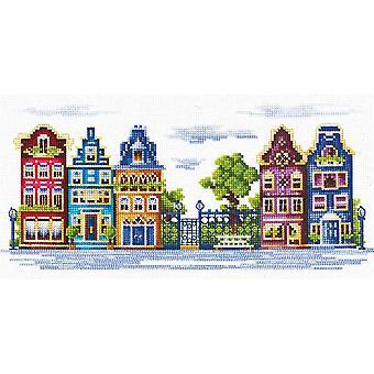 Andriana Cross Stitch kit - Fredelig Street