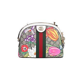 Gucci 499621hv8ac9759 Women's Multicolor Fabric Shoulder Bag