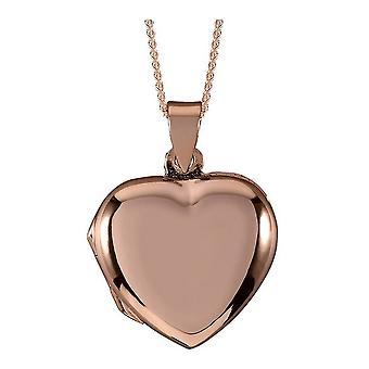 Orton West hart medaillon - Rose Gold