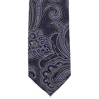 Michelsons van Londen gedetailleerde Paisley Polyester ex aequo - paars