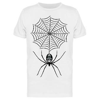 Black Skull Spider Hanging Tee Men-apos;s -Image par Shutterstock