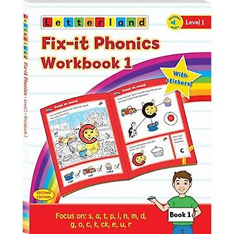 Fix-it Phonics - Level 1 - Workbook 1 (2nd Edition) by Lisa Holt - 97