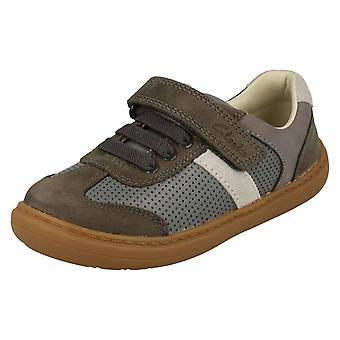 הבנים Clarks הוק & הנעליים לולאה פלאש שלב K