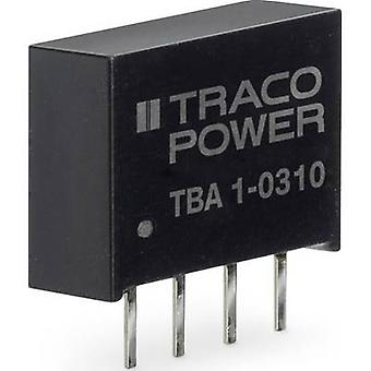 TracoPower TBA 1 DC/DC-konverter (print) 65 mA 1 W Nr. af udgange: 1 x
