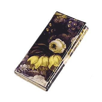 Gloss Victoriana Flower Folding Clutch Purse