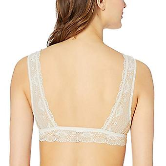 eberjey Women's Grace Duet Bralet, ivory , MEDIUM