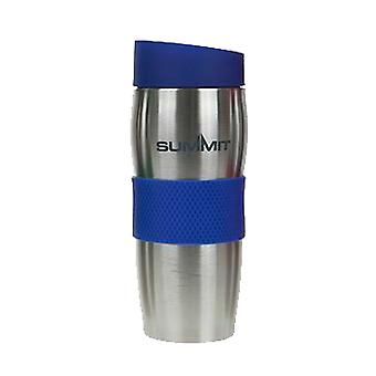 Top Thermal Travel Coffee Cup Mok Dubbele ommuurde Lek bewijs 380ml Warm Koud - 1 Unit Blue Mok