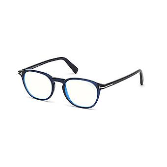 Tom Ford TF5583-B 090 Occhiali blu lucido