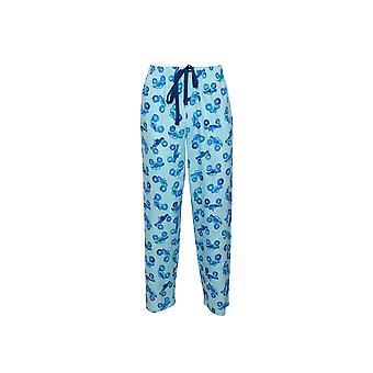 Cyberjammies Dylan 6508 Mænd's Blue Mix Monter Truck Print Pyjamas Pant