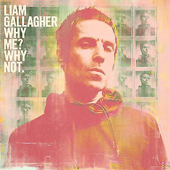 Why Me Why Not [CD] USA importação