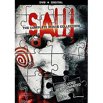 Saw: Complete Movie Collection [DVD] USA importen