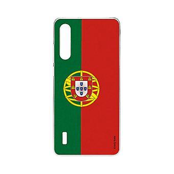 Skrog for xiaomi mi 9 lite myk portugisisk flagg