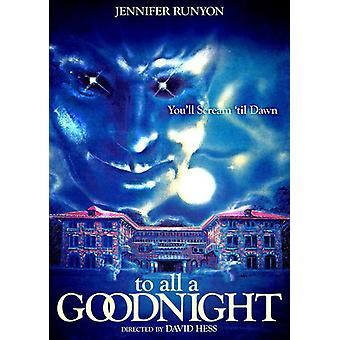 To All a Goodnight [DVD] USA import