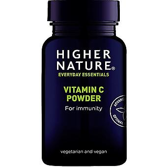 Korkeampi luonto C-vitamiini jauhe 180g (CAS180)