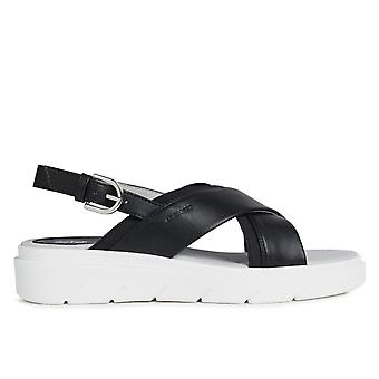 Geox d tamas sandaler kvinder sort 002