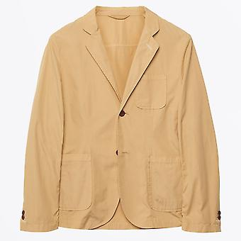 Gant Rugger - Cotton Blazer - Warm Almond
