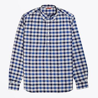 Barena  - Checked Shirt - Blue