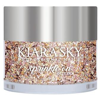 Kiara Sky Sprinkle On 3D Nail Glitters - Rodeo Drive 28g (SP247)