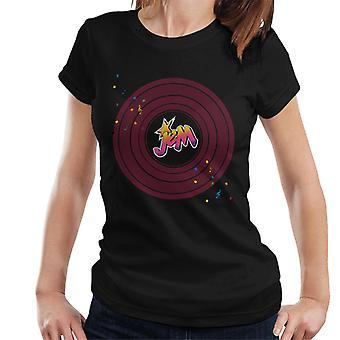Jem och hologram musical Clef Note Kvinnor & apos, s T-shirt
