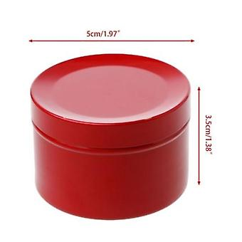 Travel Portable Sealed Metal Storage Cans 95ml - Creative Tea Candy Biscuits Cookie Storage Cans Tin Box