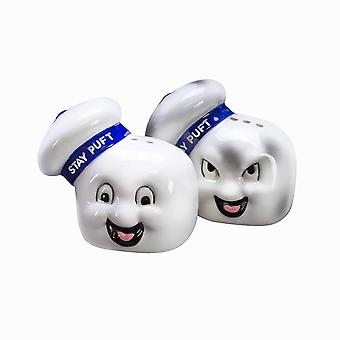 Salt & Pepper Shakers - Ghostbusters - Stay Puft New GHBL869