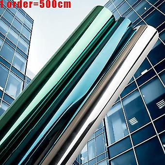 Multi Widthmirror Insulation Solar Tint Window Film/stickers, Uv Reflective One