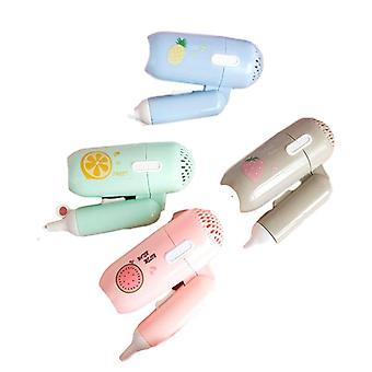 Mini Hair Dryer Foldable - Portable Thermostatic Air Collecting Electric Hair Dryer