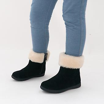 UGG Jorie Ii Girls Suede Ankle Boots Black