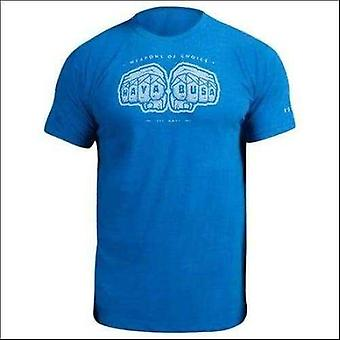 Hayabusa weapons of choice t-shirt - blue - size small