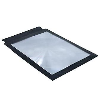 A4 Full Page Large Sheet Magnifying Glass - Reading Aid Lens Fresnel For Reading S006