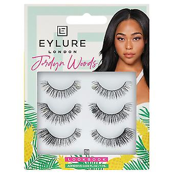 Eylure x Jordyn Woods Valse Wimpers - Look Book 3 Pairs - Lash Lijm inbegrepen