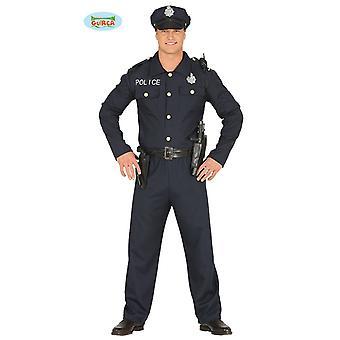 FLIC sexy - costume pour homme police de policier de fête Carnaval Carnaval bleu