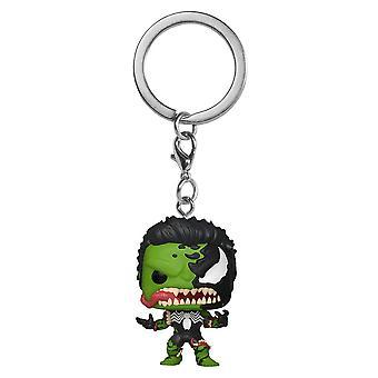Venom Venomized Hulk Pocket Pop! Keychain