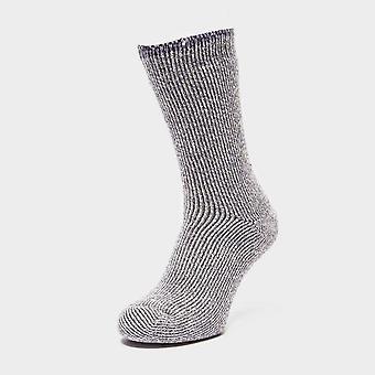 Heat Holders Women's Twist Sock Grey