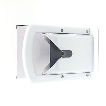 Bagel Slicer High End White Plastic and Stainless Steel Guillotine White