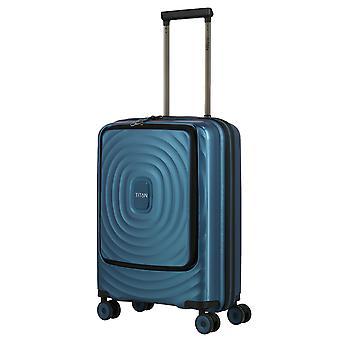 TITAN Looping Handbagage Trolley S, 4 wielen, 55 cm, 37 L, turquoise